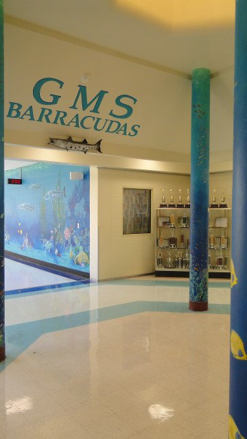 Architectural Details Corpus Christi Tx Grant Middle School Custom Murals And Interior Design